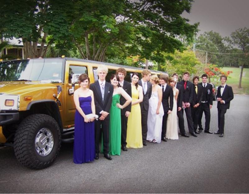 School Formal Stretch Hummer Limousine Hire